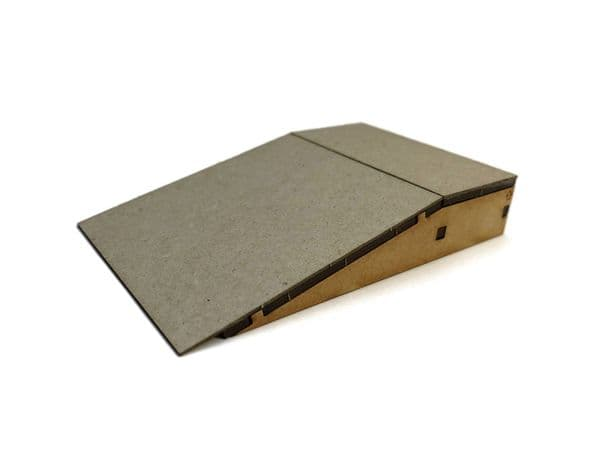 LX406-OO Flush Sided Platform Ramps (100mm x 62mm) (Pack of 2) - OO/4mm/1:76